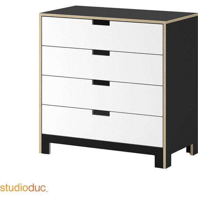 Juno 4 Drawer Dresser, Onyx