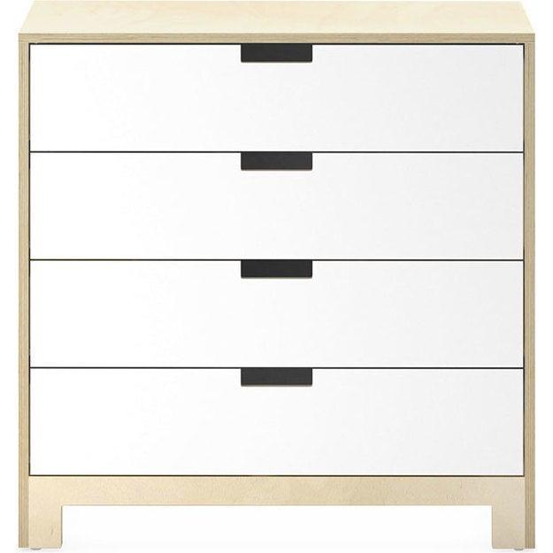 Juno 4 Drawer Dresser, Natural