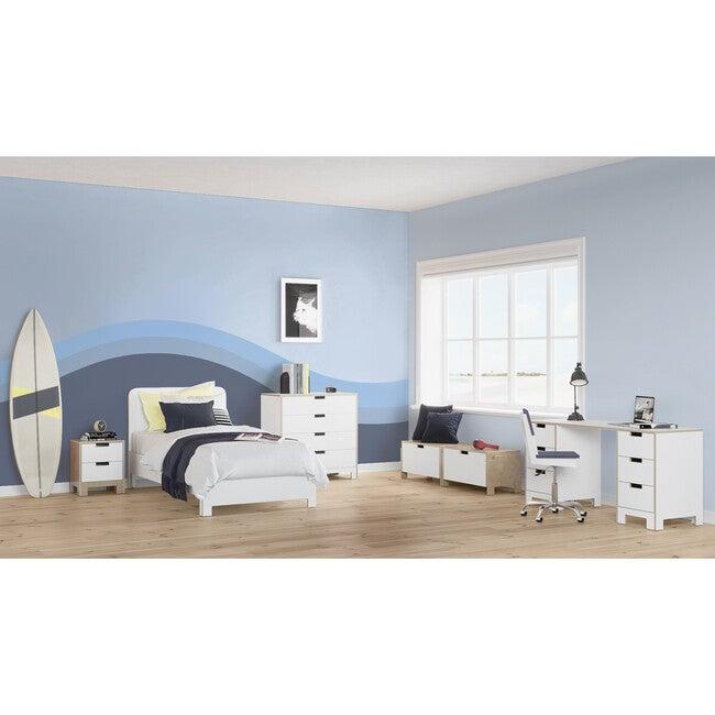 Juno Bed, White