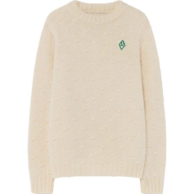 Bull Kids Sweater, Raw White Logo