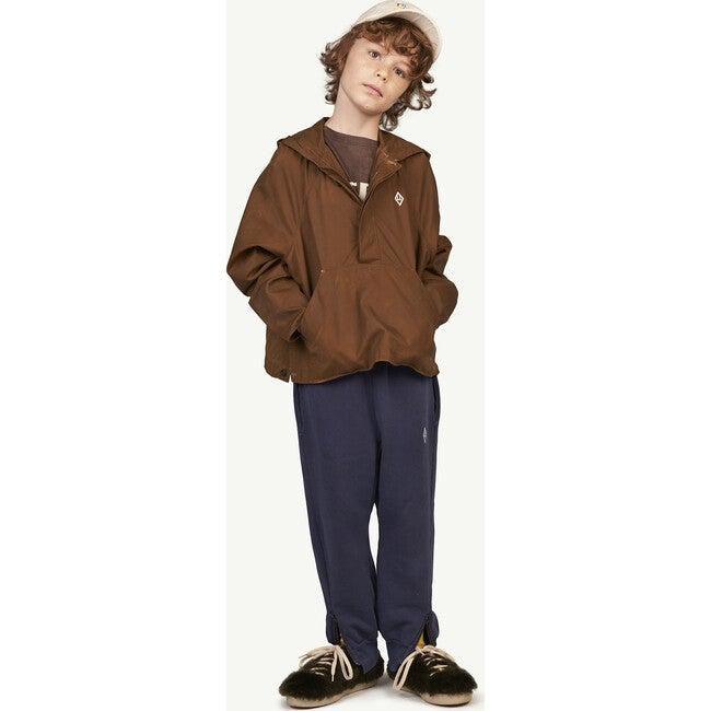 Lion Kids Jacket, Brown Logo