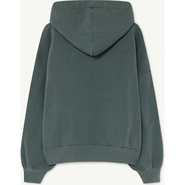 Beaver Kids Sweatshirt, Deep Green Apollo