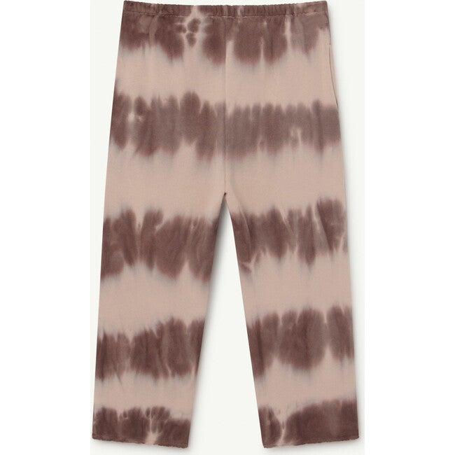 Horse Kids Trousers, Brown Tie Dye