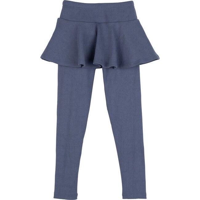 Luna Skirt Legging, Darker Dusty Blue
