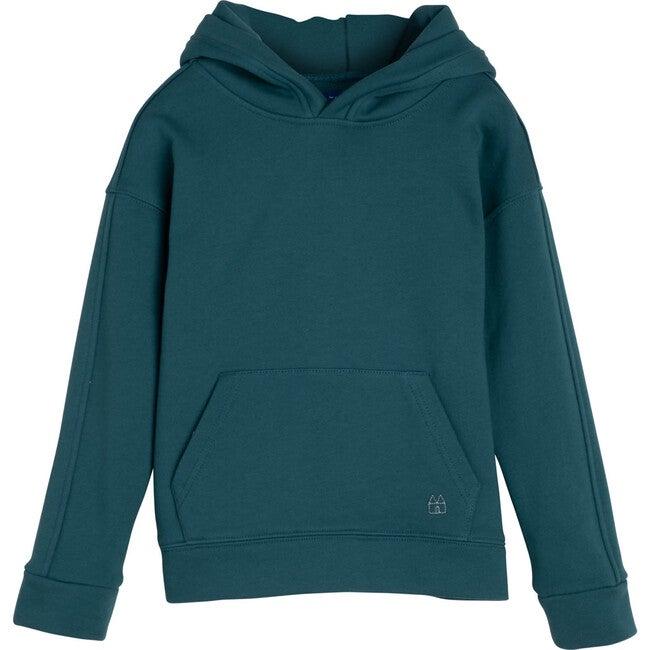 Ash Hoodie, Deep Sage - Sweatshirts - 1