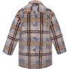 Coat Olive, Brown - Fur & Faux Fur Coats - 1 - thumbnail