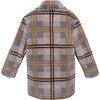 Coat Olive, Brown - Fur & Faux Fur Coats - 3