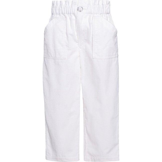 Pants Corduroy, White