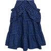 Skirt Honeyberry, Blue - Skirts - 4