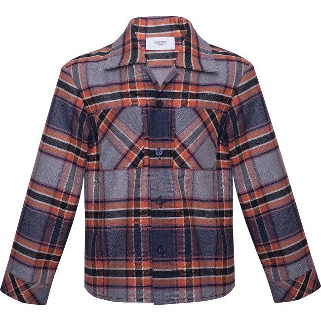 Shirt Guomi, Blue Plaid