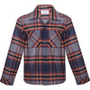 Shirt Guomi, Blue Plaid - Shirts - 1 - thumbnail
