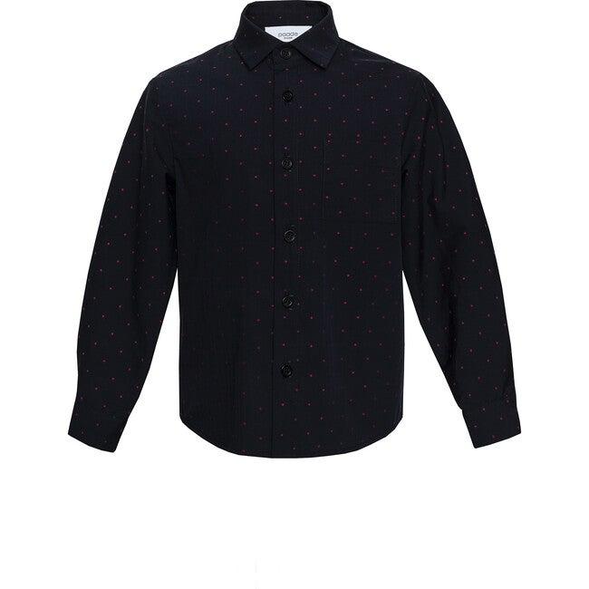 Shirt Lingon, Black