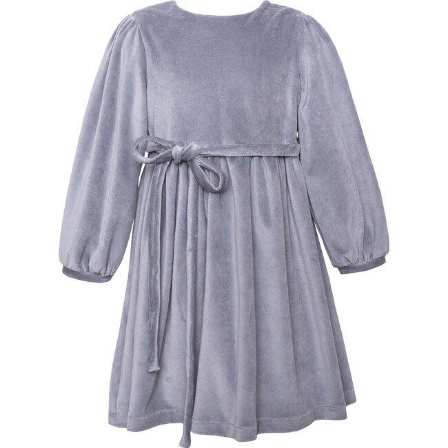 Velvet Dress, Grey