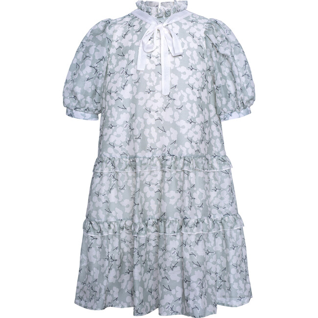 Chiffon Maxi Dress Snowberry, Mint