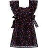 Apron Wildrose, Black - Dresses - 1 - thumbnail