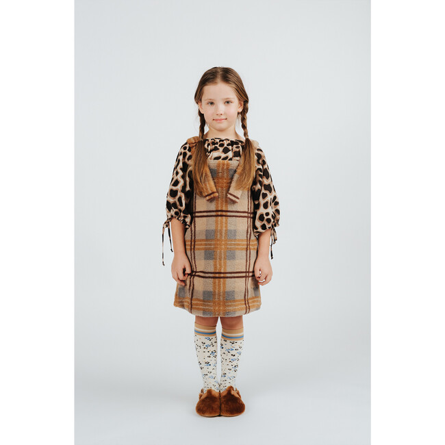 Pinafore, Olive Brown