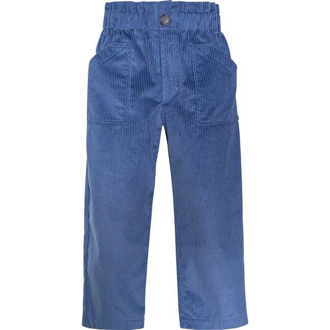 Pants Corduroy, Blue