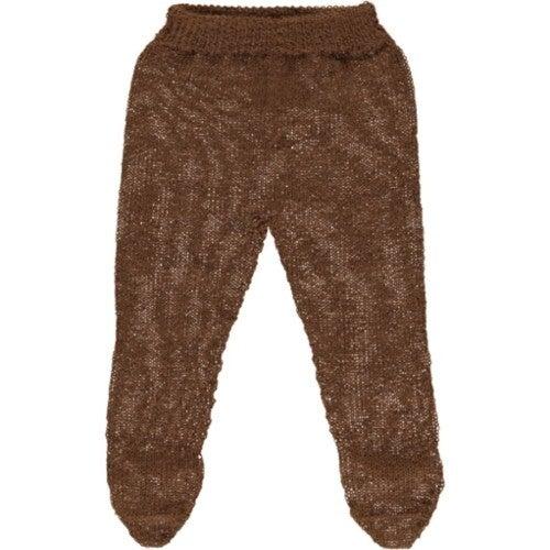 Mabel Footed Pants, Caramel