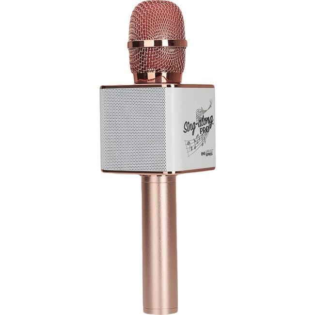 Sing-along Pro Bluetooth Karaoke Microphone & Speaker, Rose Gold - Musical - 1