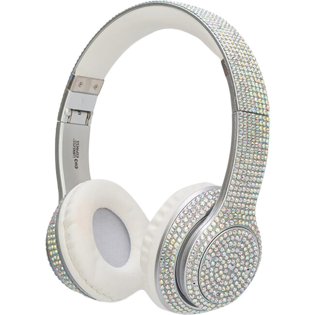 Iridescent Bling Headphones with LED Speakers - Musical - 1