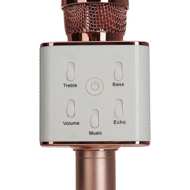 Sing-along Pro Bluetooth Karaoke Microphone & Speaker, Rose Gold