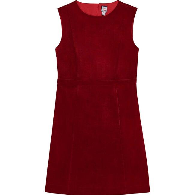 Victoria Tween Shift Dress, Red Velvet