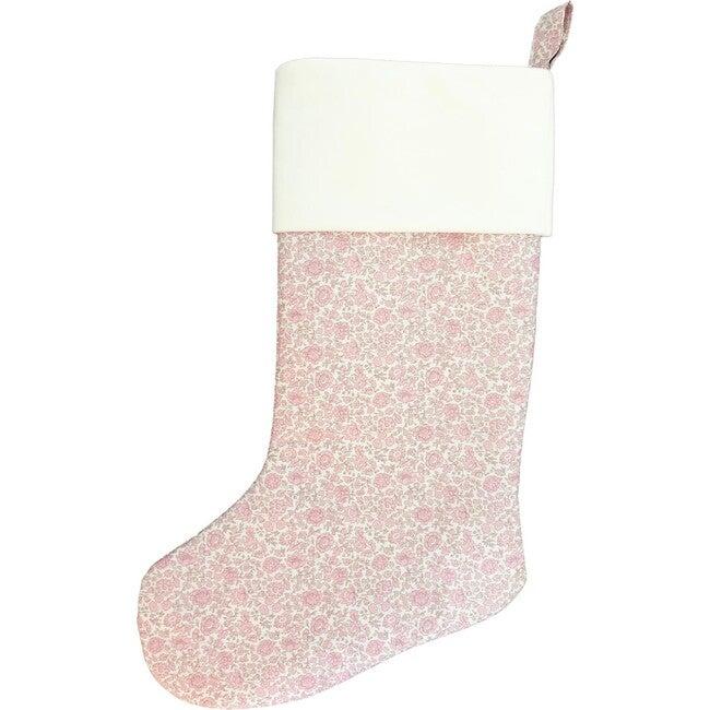 Christmas Stocking, D'Ango Coast Pink