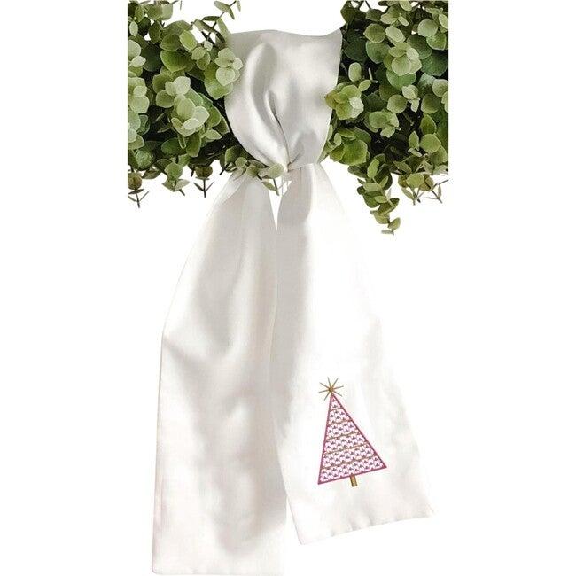 Wreath Sash, Modern Christmas Tree