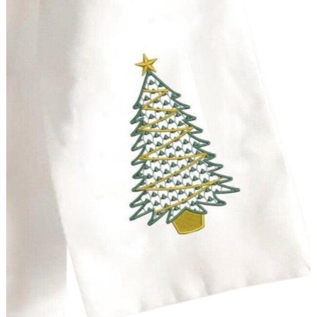 Wreath Sash, Traditional Christmas Tree