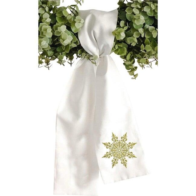 Wreath Sash, Snowflake