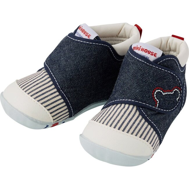 My First Walker Shoes, Indigo