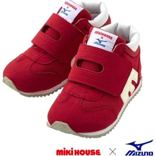 Miki House & Mizuno Second Shoes, Red