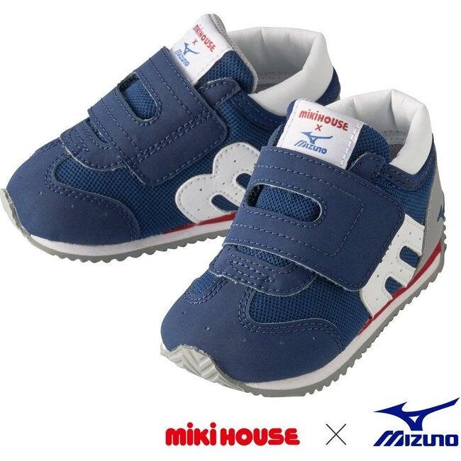 Miki House & Mizuno Second Shoes, Navy
