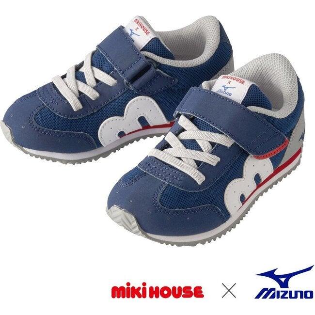 Miki House & Mizuno Kids Shoes, Navy