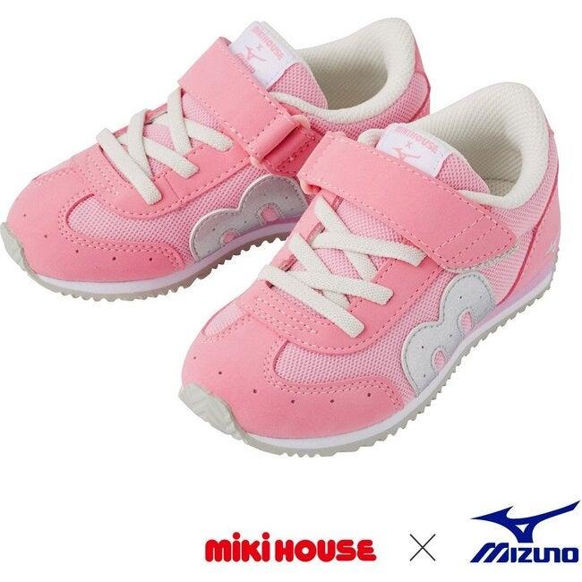 Miki House & Mizuno Kids Shoes, Pink