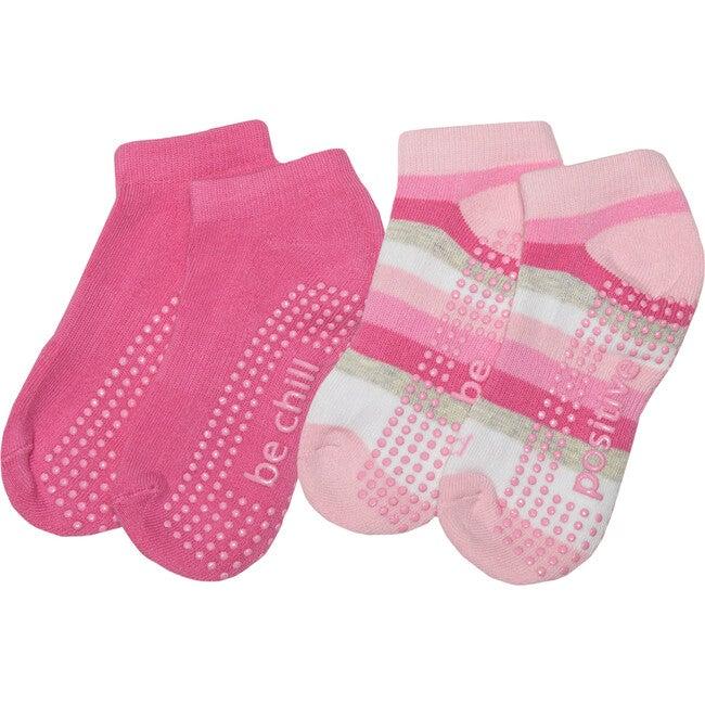 Callie Girls 2 Pack Grip Socks