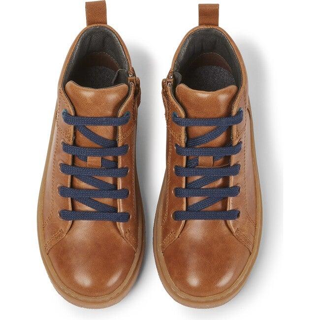 Kids Kido Leather Boot, Brown