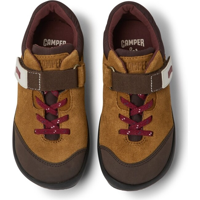 Kids Ergo Suede Sneaker, Brown