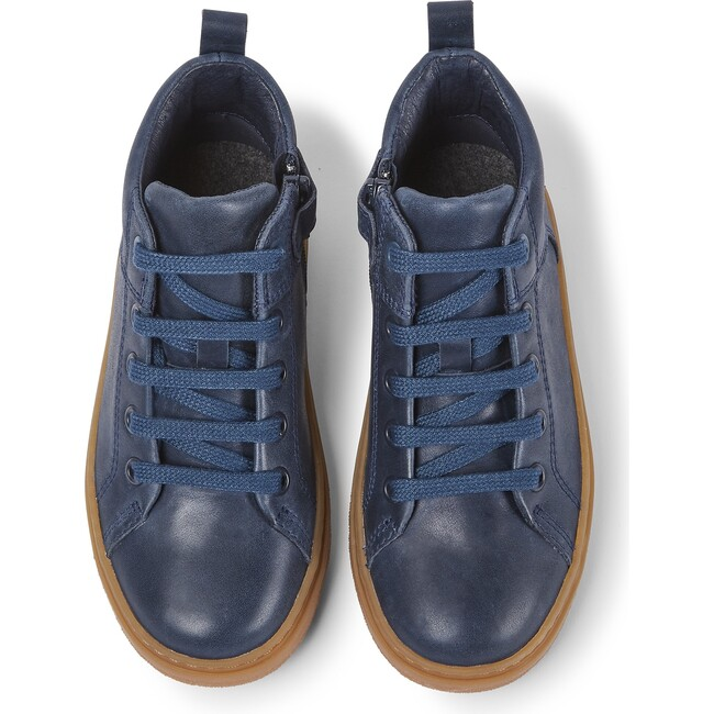 Kids Kido Leather Boot, Blue