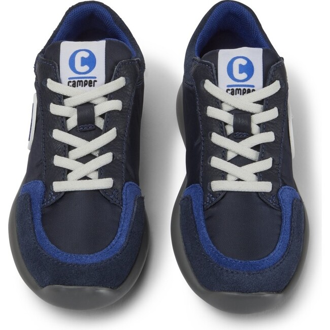 Kids Driftie Technical Fabric Sneaker, Blue