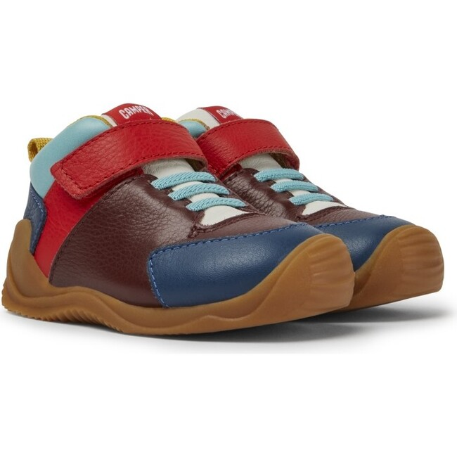 Kids Dadda FW Leather Sneaker Boot, Multicolor
