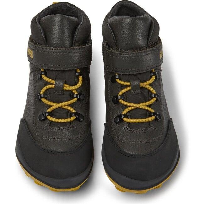 Kids Peu Pista Leather Boot, Grey - Sneakers - 1