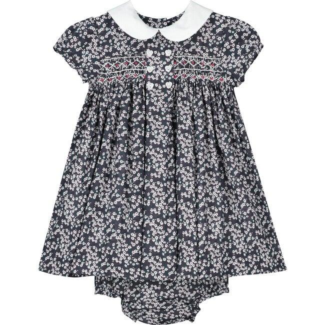 Gemma Liberty Fabric Baby Dress, Multi