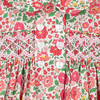 Ember Liberty Fabric Baby Dress, Red & Green - Dresses - 4
