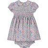 Daniella Liberty Fabric Baby Dress, Multi - Dresses - 1 - thumbnail
