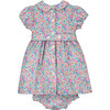 Daniella Liberty Fabric Baby Dress, Multi - Dresses - 3