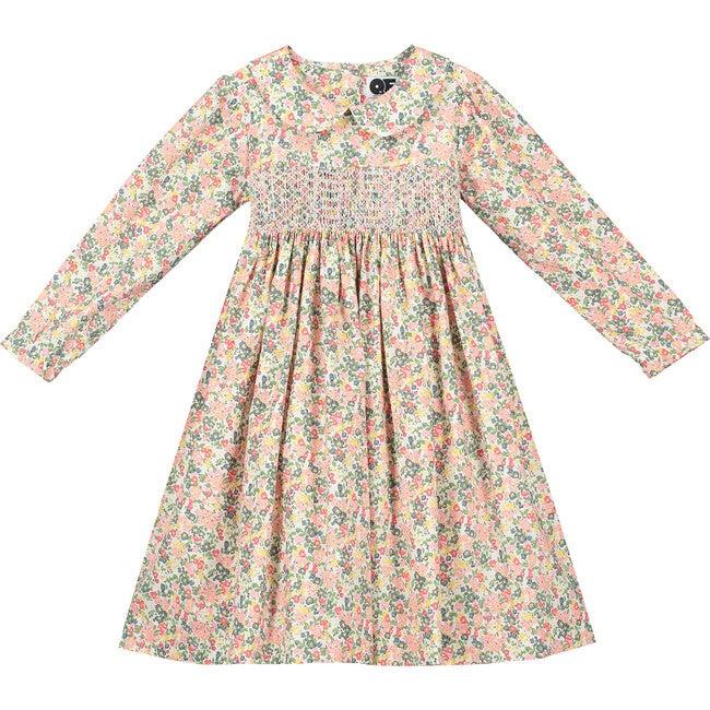 Aurora Smocked Dress, Multi