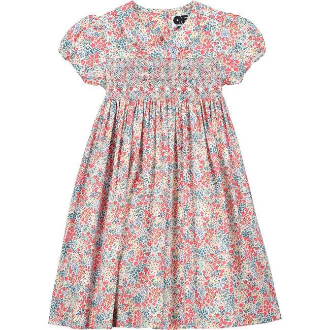 Ariana Smocked Dress, Pink