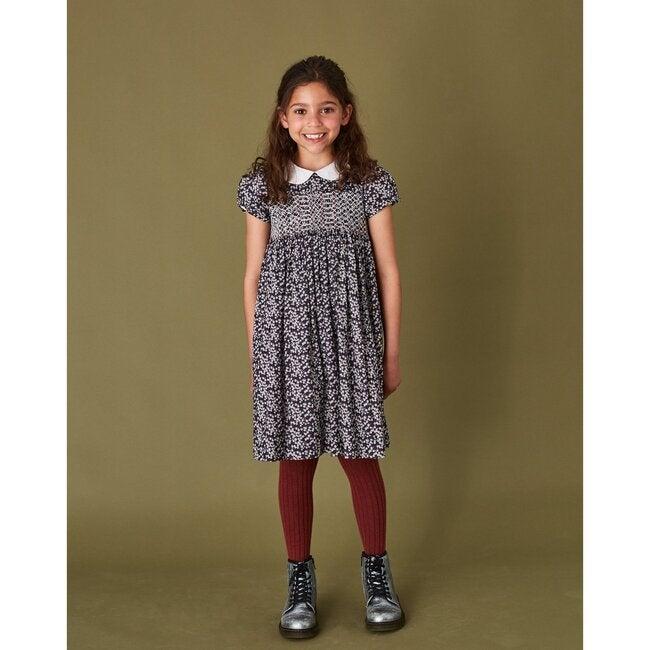 Teagan Liberty Fabric Dress, Multi
