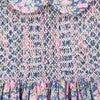 Vera Liberty Fabric Baby Dress, Pink & Navy - Dresses - 4